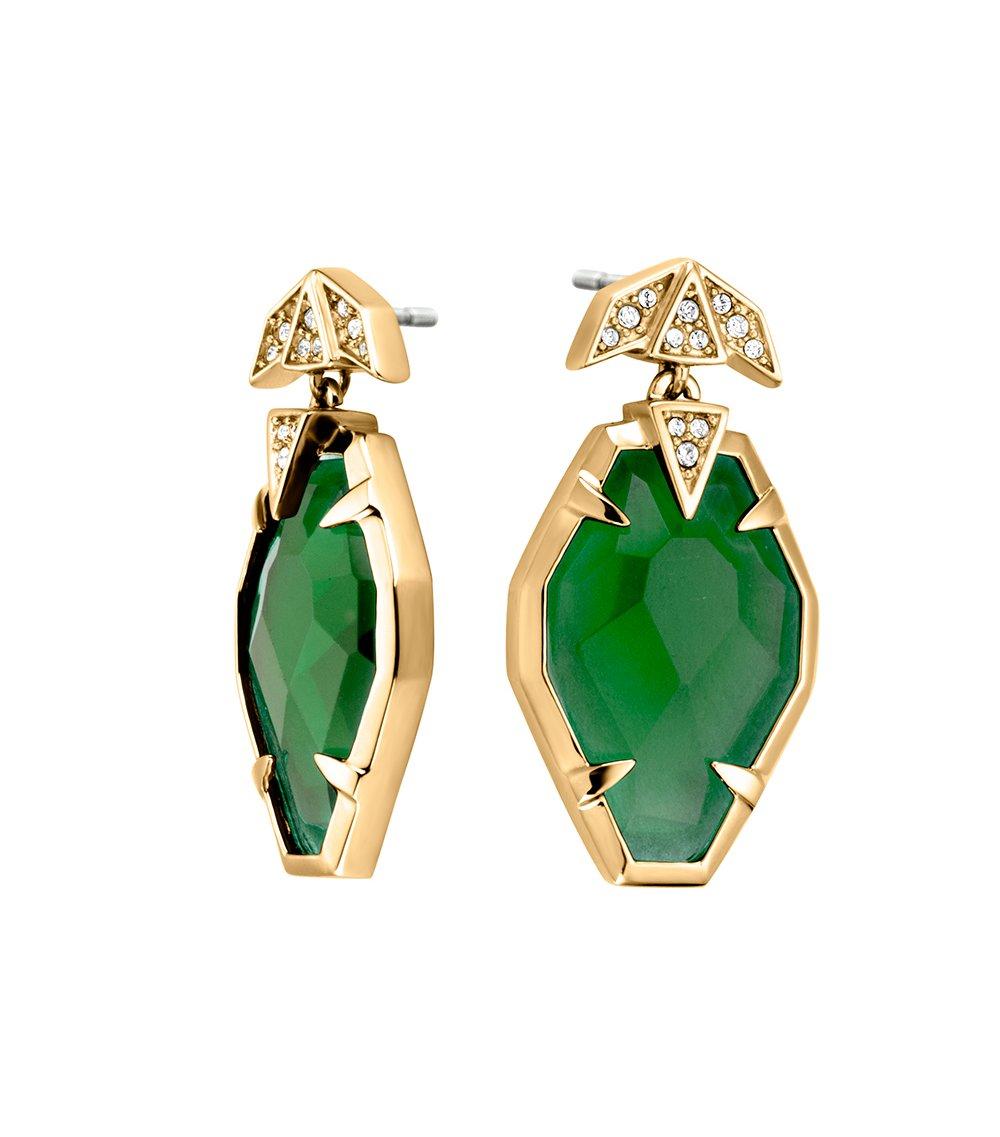 JUST CAVALLI Glam Chic Gold Stainless Steel Earrings JCER00380200 67d4aba656b