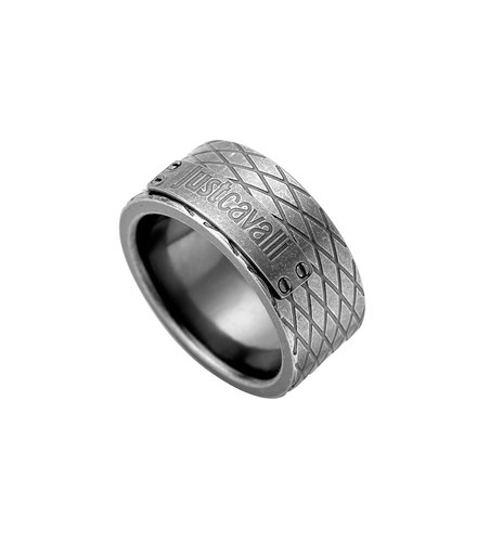 JUST CAVALLI Rock Stainless Steel Ring JCRG50040211