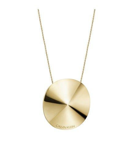 CALVIN KLEIN Spinner Stainless Steel Necklace KJBAJN100100