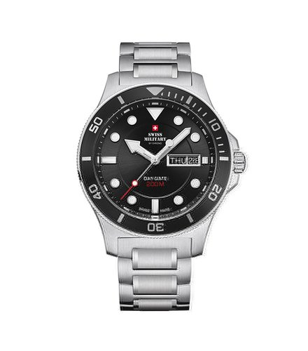 SWISS MILITARY by CHRONO Dive Day Date SM34068.12