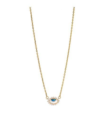 BREEZE Stainless Steel Zircons Necklace 410037.1