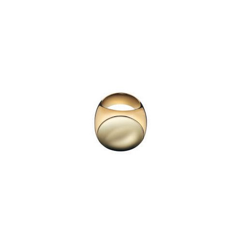 Calvin Klein Gold Stainless Steel Ring KJ07AR0107