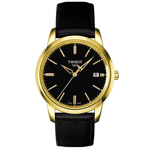 ΤISSOT T-Classic Classic Dream Black Leather Strap T0334103605101