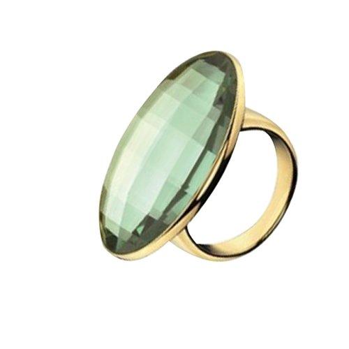 Calvin Klein Gold Stainless Steel Ring KJ10BR0104