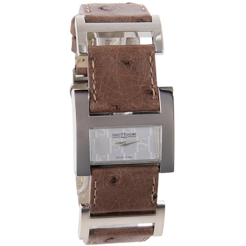 SAINT HONORE Brown Leather Strap 7102441ASH