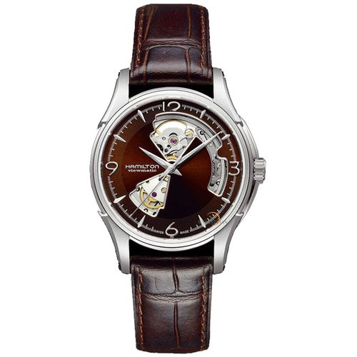 H32565595 HAMILTON JAZZMASTER OPEN HEART MENS WATCH