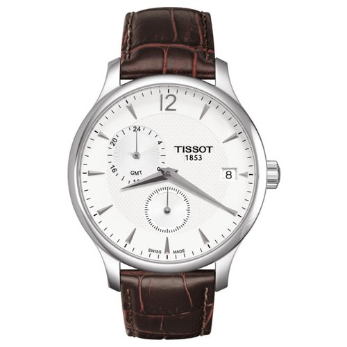 Tissot Tradition GMT Brown Leather T0636391603700