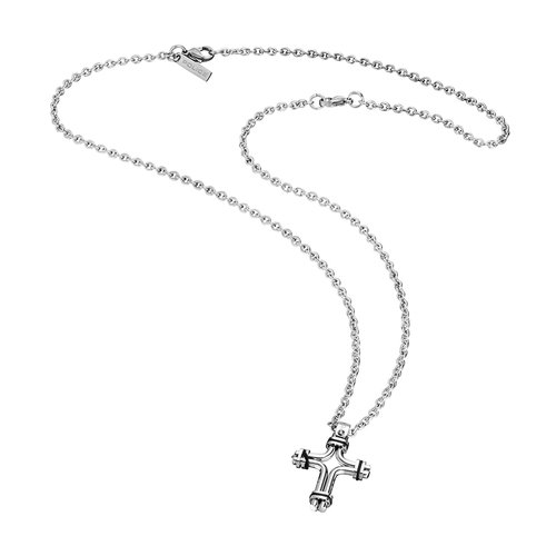 POLICE Tucson Stainless Steel Necklace 70cm 26037PSS-01