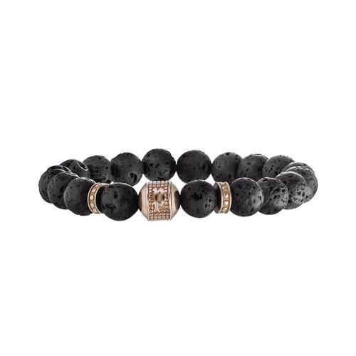 POLICE Jouster Stainless Steel Bracelet Adjustable 26050BSERG-03