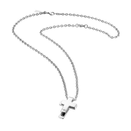 POLICE Vista Stainless Steel Necklace 70cm 26065PSS-01