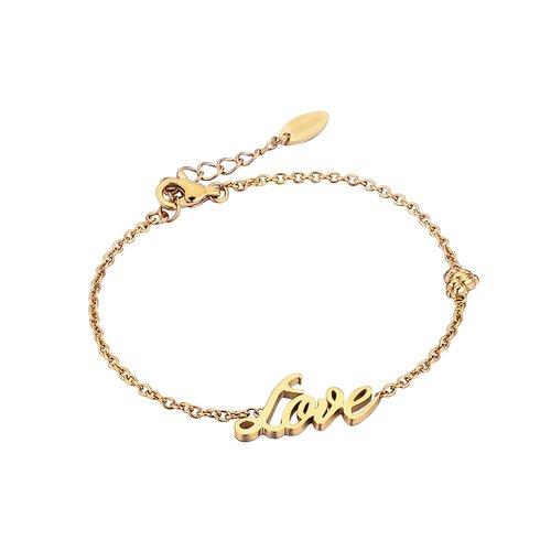 JUST CAVALLI Animal Gold Stainless Steel Bracelet JCBR00200200