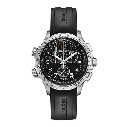 HAMILTON Khaki X-Wind Chrono GMT H77912335