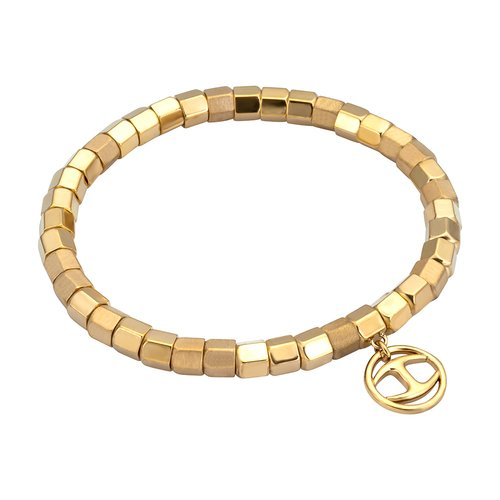 JUST CAVALLI Rock Gold Stainless Steel Bracelet JCBR00320200