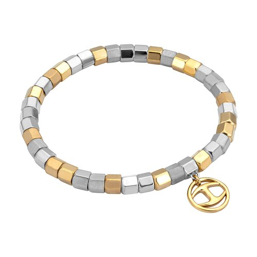 JUST CAVALLI Rock TwoTone Stainless Steel Bracelet JCBR00320300
