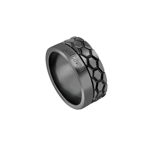 JUST CAVALLI Relaxed Stainless Steel Ring JCRG50090311