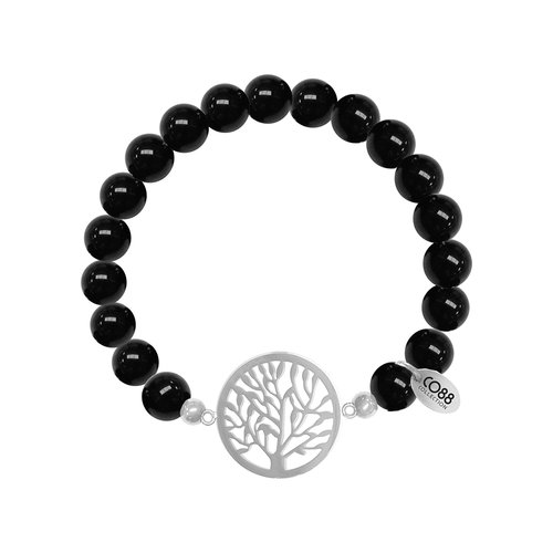CO88 Beloved Steel Bracelet Natural Stone Adjustable 8CB-80020