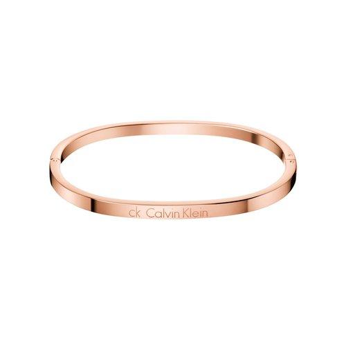 CALVIN KLEIN Hook Rose Gold Stainless Steel Bracelet KJ06PD1001