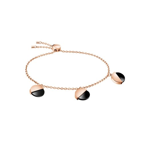 CALVIN KLEIN Spicy Rose Gold Stainless Steel Bracelet KJ8RBB140100