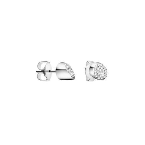 CALVIN KLEIN Brilliant Stainless Steel Earrings KJ8YME040100