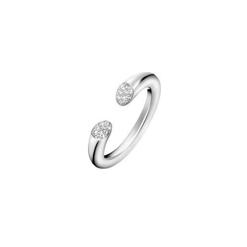 CALVIN KLEIN Brilliant Stainless Steel Ring KJ8YMR0401