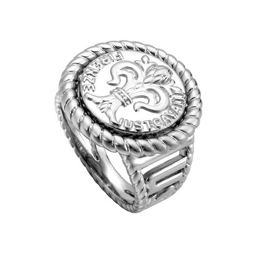 JUST CAVALLI Logo Stainless Steel Ring JCRG00330106