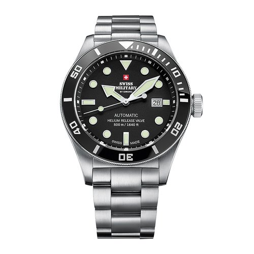 SWISS MILITARY by CHRONO Diver Automatic SMA34075.01