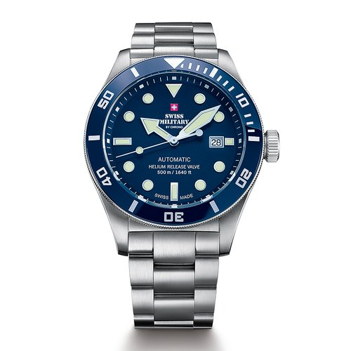 SWISS MILITARY by CHRONO Diver Automatic SMA34075.02