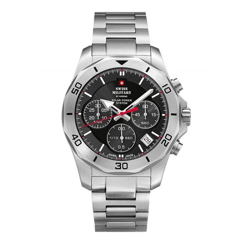 SWISS MILITARY by CHRONO Solar Chronograph SMS34072.01