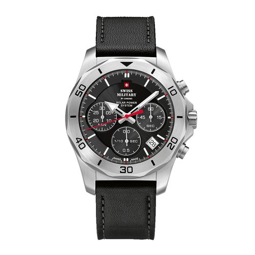 SWISS MILITARY by CHRONO Solar Chronograph SMS34072.04