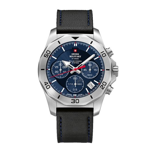 SWISS MILITARY by CHRONO Solar Chronograph SMS34072.05