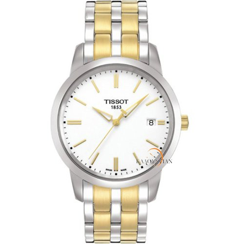 TISSOT T-Classic Dream Two Tone Stainless Steel Bracelet T0334102201101