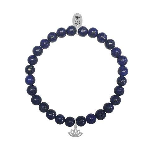 CO88 Stainless Steel Natural Stones Adjustable Bracelet 8CB-17042