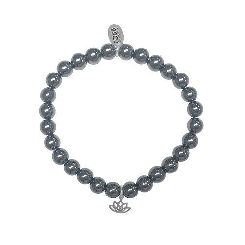 CO88 Stainless Steel Natural Stones Adjustable Bracelet 8CB-17047
