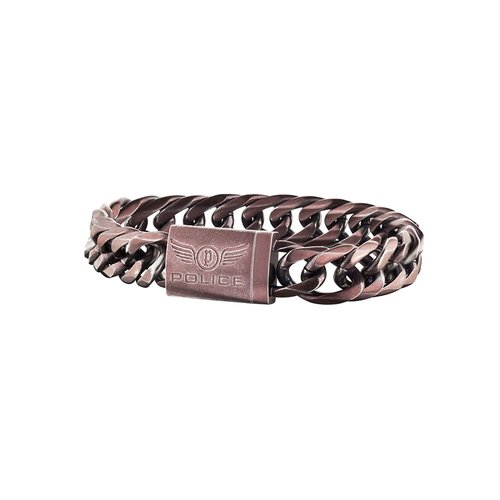 POLICE Proof Stainless Steel Bracelet 25507BSEBR-02L