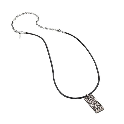 POLICE Armature Stainless Steel Necklace 70cm 25684PLE-01
