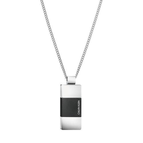 CALVIN KLEIN Strong Stainless Steel Necklace KJ9LMP280100