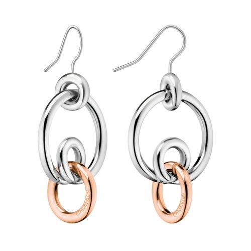 CALVIN KLEIN Clink Stainless Steel Earrings KJ9PPE200200