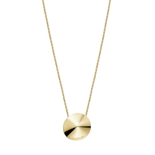 CALVIN KLEIN Spinner Stainless Steel Necklace KJBAJN100200