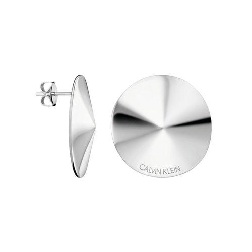 CALVIN KLEIN Spinner Stainless Steel Earrings KJBAME000100