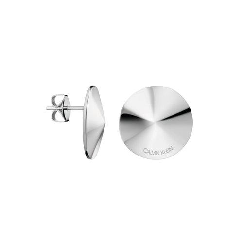CALVIN KLEIN Spinner Stainless Steel Earrings KJBAME000200