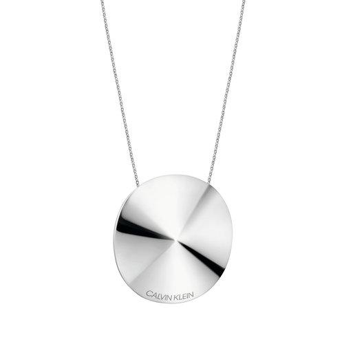 CALVIN KLEIN Spinner Stainless Steel Necklace KJBAMN000100