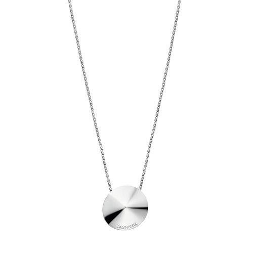 CALVIN KLEIN Spinner Stainless Steel Necklace KJBAMN000200