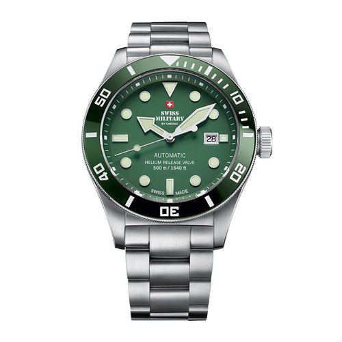 SWISS MILITARY by CHRONO Diver Automatic SMA34075.03