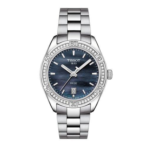 TISSOT PR100 Lady Sport Chic Diamonds T1019106112100