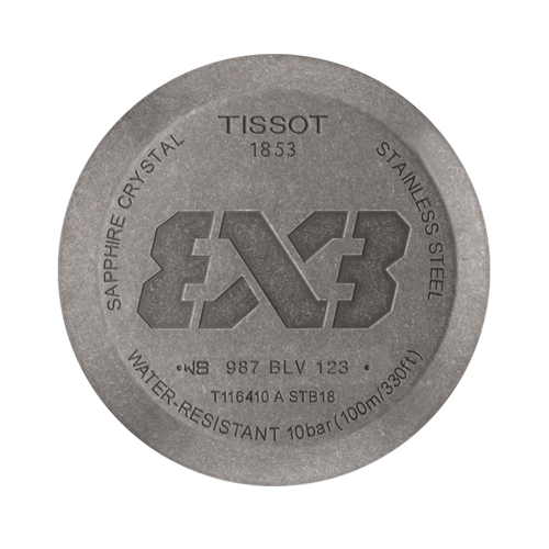 TISSOT Gent XL 3x3 Street Basketball T1164103606700