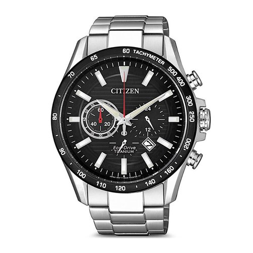 CITIZEN Sporty Eco-Drive Chrono Titanium CA4444-82E