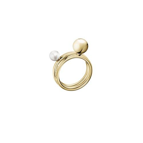 CALVIN KLEIN Bubbly Stainless Steel Ring KJ9RJR1403