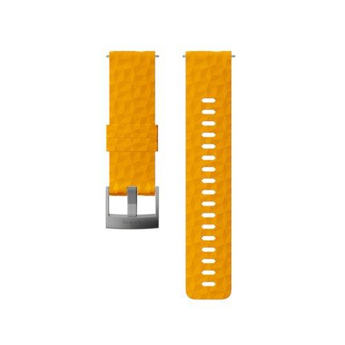 SUUNTO 24mm Explore 1 Amber Gray Silicon Strap SS050012000