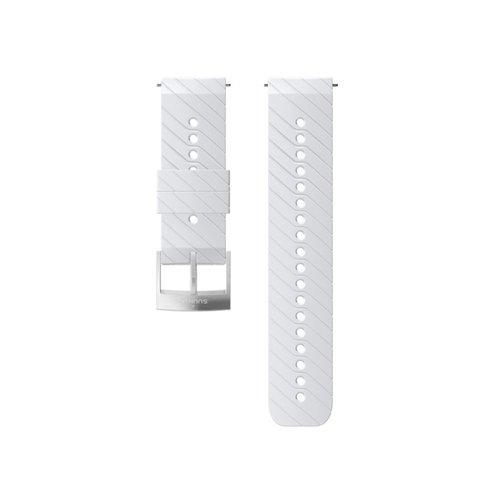 SUUNTO 24mm Athletic 3 White Steel Silicon Strap SS050156000