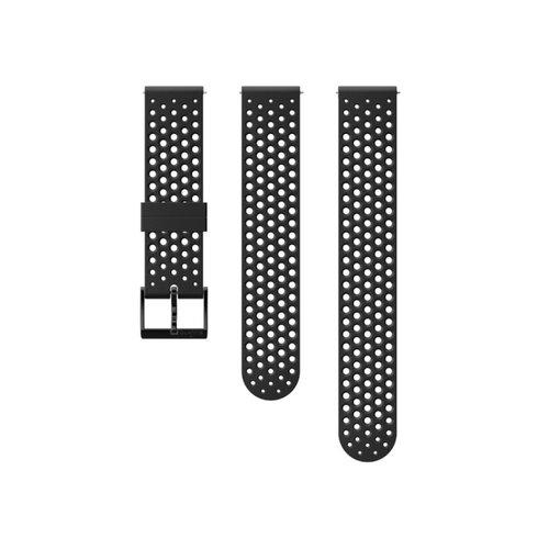 SUUNTO 20mm Athletic 1 Black Black Silicon Strap SS050177000